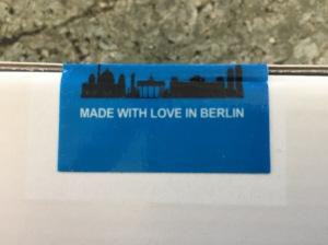 """Doorbird Packaging - """"Made with Love in Berlin"""""""