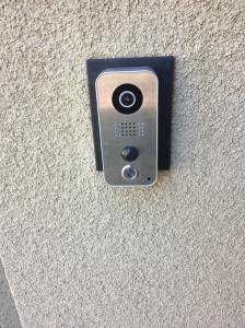 Doorbird Installed
