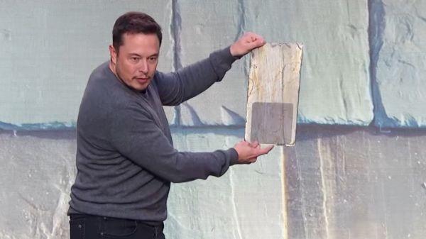 Elon Musk - Solar Roof Tiles Demo